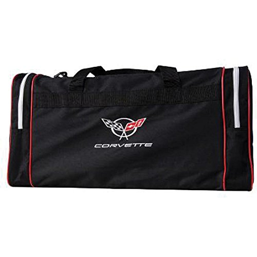 (Eckler's Premier Quality Products 25-333661 Corvette Duffel Bag With C5 Embroidered)
