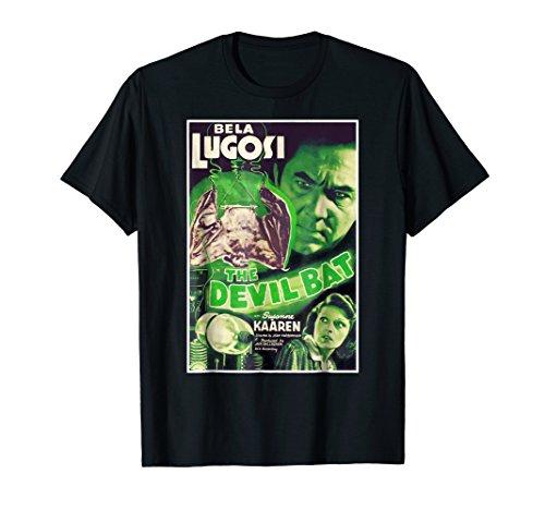 Devil Bat Vampire Halloween T-Shirt Horror Sci Fi Tee Shirt]()