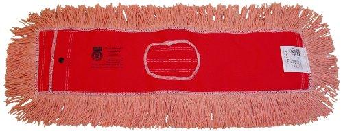 Zephyr 12404 Pro-Blend Orange Dust Mop Head, 36'' Length x 5'' Width (Pack of 6) by Zephyr