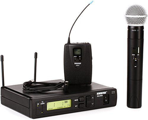 Shure ULXS124/85 Combo Wireless System - G3 Band, 470-505MHz by Shure