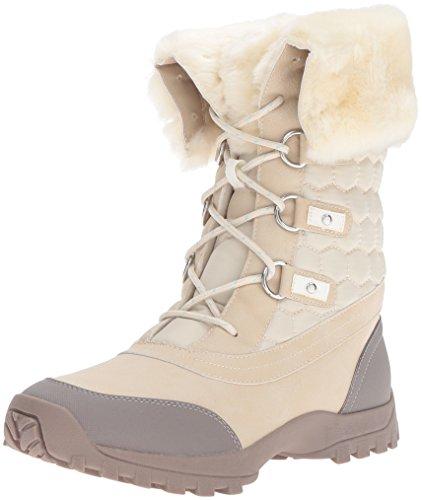 Report Women's Brey Snow Boot, Sand, 7.5 M US - Report Faux Fur Boot