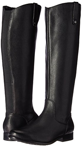 41z8kWyHB1L 206 Collective Women's Whidbey Wide Calf Riding Boot, Black, 9 C/D US