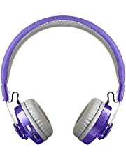LilGadgets LUGT-05-PU Untangled Pro Children's Bluetooth Headphones, Purple