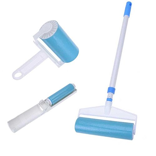 Professional for Lint Brush Refills, 3pcs Washable Lint Sticky Roller Brushes Hair Remover Cleaning Brush Household - Lint Brush, Helmac Lint Brush, Sticky Cleaner, Roller Cleaner by MegaBig
