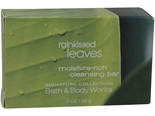 Bath & Body Works Rainkissed Leaves Soap, Lot of 16, 2 Ounce Bars - 32 Ounces Total    ()