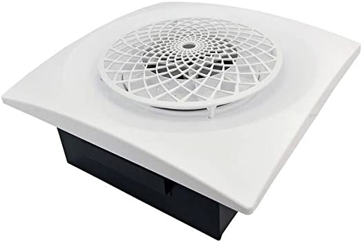 Aero Pure CYL400-SR W Extractor Fan with Cyclonic Technology for Bathroom or Laundry Room