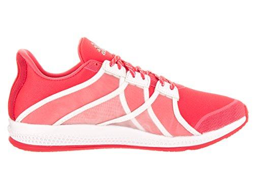 Adidas Kvinners Gymbreaker Sprett Trening Sko Rød / Hvit