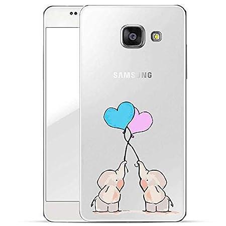 Finoo Hülle für Samsung Galaxy A5 2017 - Handyhülle mit Motiv und Optimalen Schutz Tasche Case Hardcase Cover Schutzhülle - E