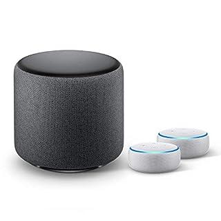 Stereo Echo Dot + Echo Sub Bundle (Sandstone)