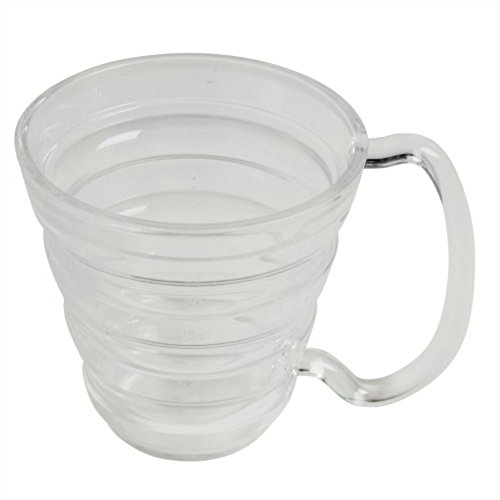 Maddak Clear Ergo Mug, 9.5-Ounces (745740001)