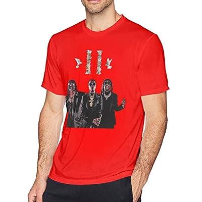 Migos ATL Mens Funny Short Sleeve T-Shirt Red