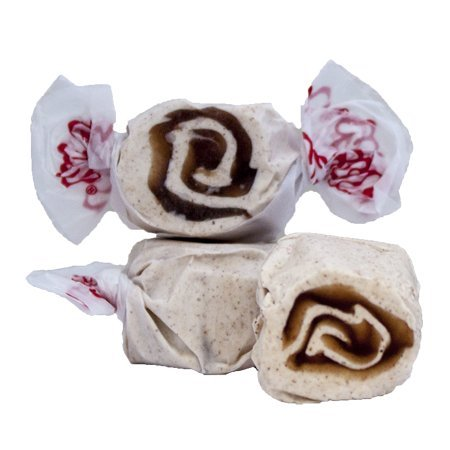 Cinnamon Rolls Sweet (Taffy Town Gourmet Cinnamon Roll Salt Water Taffy, 5 Lb Bag)