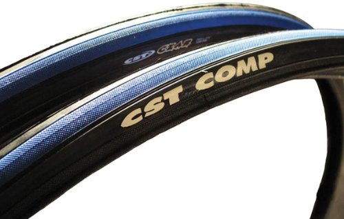 CST Czar Comp Road Tire, Blue/Black, (Comp Road Tire)