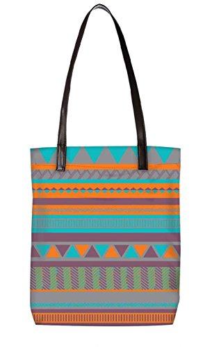 Snoogg Strandtasche, mehrfarbig (mehrfarbig) - LTR-BL-725-ToteBag
