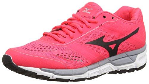 MX Pink Pink Zapatillas Diva Silver de Mujer Running Black Mizuno Synchro Rosa F5qZRwp