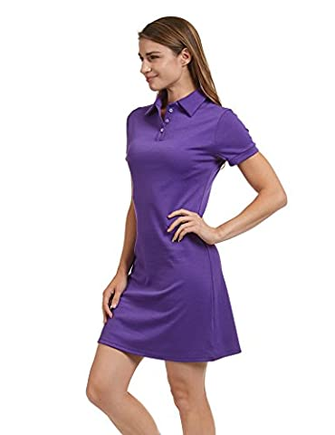 CTC WDR1379 Womens Short Sleeve Polo Dress - Made in USA - Together Short Sleeve Dress