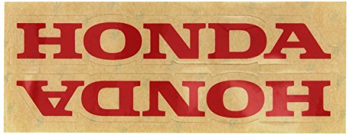 Factory Effex 06-44302 Red 'Honda' Universal Swing Arm Sticker