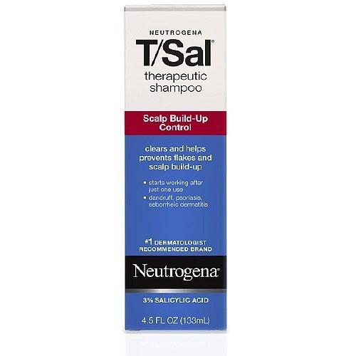Neutrogena T/Sal Therapeutic Shampoo Scalp Build-up Control 4.5 Fl Oz