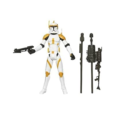 Star Wars Clone Wars Animated Action Figure No. 10 Clone Commander Cody
