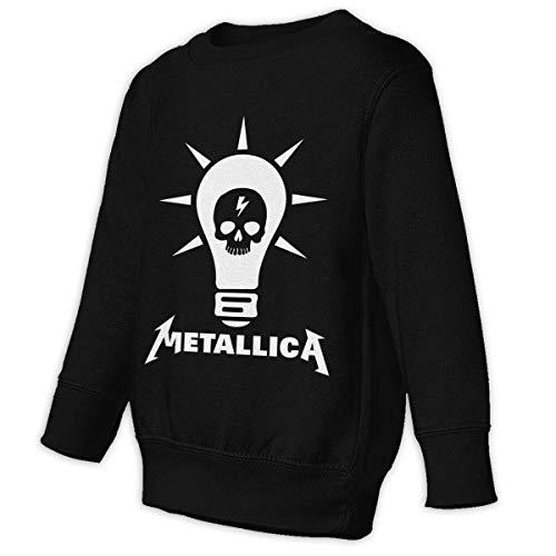 Lixue Metallica 5 Kids' Slouchy Long Sleeve Sweatshirts