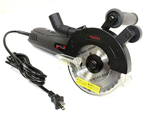 (9TRADING Dual Blades Electric Circular Cutter Cut Saw 960W 8 Amp with 5
