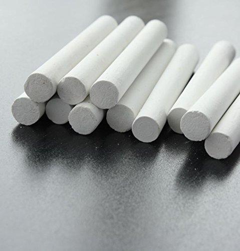 FixtureDisplays Chalk, Assort Color 12pk w/ Eraser 10235-Chalk 10235-12WChalk