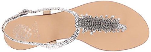 Jachai Camuto Silver Sandal Vince Dress Women's 6x06w7