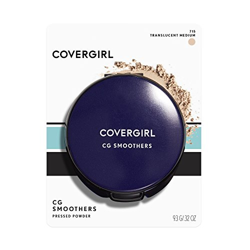 COVERGIRL Smoothers Pressed Powder, Translucent Medium .32 oz (9.3 g) (Packaging may vary)