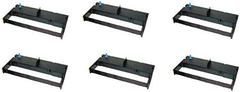 6 printer ink ribbon cartridge for Toshiba TEC FS MA-1450 1650 POS Cash Register