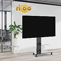 RICOO FS707-B, Soporte TV, Base de pie, Giratorio, Televisión 30-55