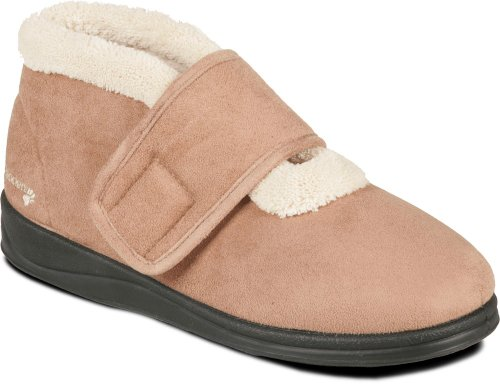 beige Beige pour Chaussons Padders femme wUvHWq