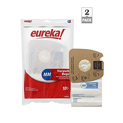 Genuine Eureka MM Vacuum Bag 60297A Style -(2 packs of 10 = 20 Bags) (Vacuum Bags Style Mm compare prices)