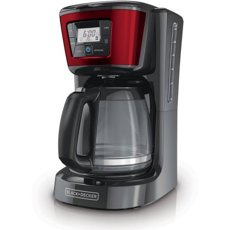 Negro + Decker 12-cup cafetera programable, cm2030r: Amazon ...