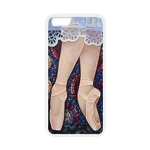 Fashionable Design Ballet Pointe Shoes art,goodly Ballerina Dancing,ballet shoe Apple iphone 6 (4.7