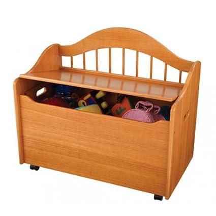 KidKraft Limited Edition Toy Box, Honey PZ-LTToyBox