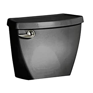 American Standard 4021.016.178 Cadet-3 Tank 12-Inch Rough-In Toilet Tank with Coupling Components, Black (Tank Only)