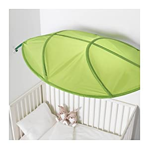 ikea lova kid bed canopy green leaf kitchen dining. Black Bedroom Furniture Sets. Home Design Ideas