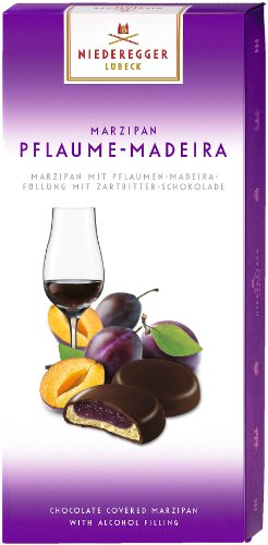 Niederegger Marzipan Pflaume-Madeira, 1er Pack (1 x 100 g) by Yulo Toys Inc