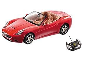 Mondo Motors - Coche con radiocontrol, escala 1:12, modelo Ferrari California (con baterías recargables incluidas) (63117)