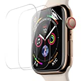 Screen Protector Apple Watch Series 4 44mm Screen Protector HD Flexible Film Compatible Apple iWatch 4
