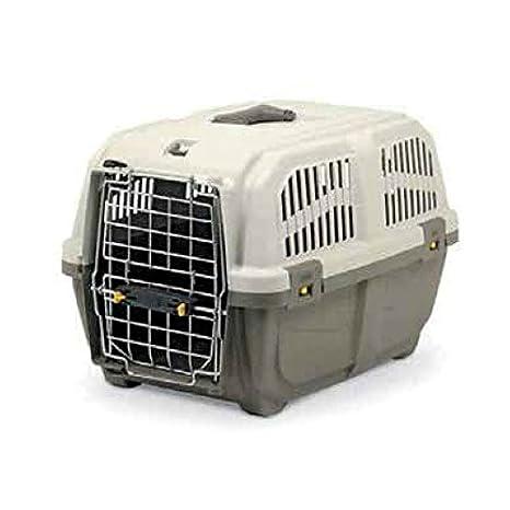 BIOZOO - TRANSPORTIN SKUDO 64X40X39 CM PARA PERROS GATOS MASCOTAS: Amazon.es: Productos para mascotas