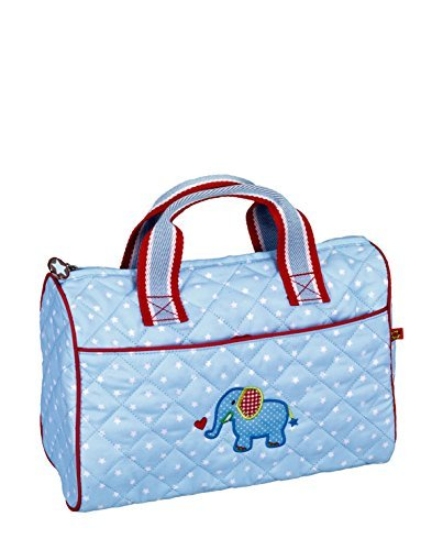Baby Charms Baby's First Trip Toilet Bag, 30 x 20 x 15 cm, Light Blue, Model# 12591 by Baby Charms