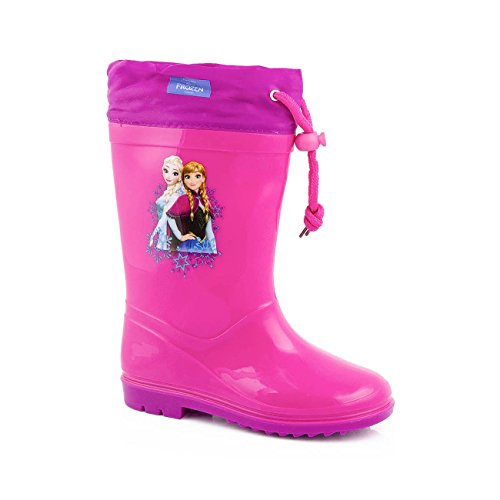 Die Eiskönigin kinder Gummistiefel disney Mädchen rosa und lila regen Stiefel frozen
