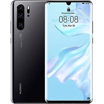 78a81d957ba Huawei P30 Pro 8 Stunning 6.47 Inch OLED Display, Android.TM 9.0 Pie, EMUI  9.1.0 Sim-Free Smartphone - International Version/No Warranty (Midnight  Black ...