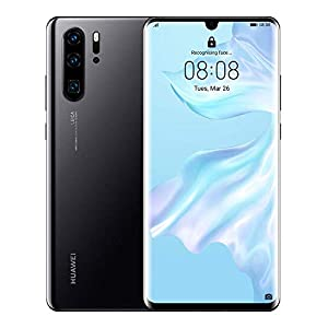 Huawei P30 Pro 8 Stunning 6.47 Inch OLED Display, Android.TM 9.0 Pie, EMUI 9.1.0 Sim-Free Smartphone – International Version/No Warranty (Midnight Black Dual Sim VOG-L29, 256GB)…