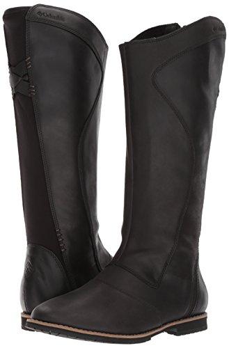 Columbia Women's Twentythird Ave Waterproof Tall Boot Uniform Dress Shoe, Black, Mud, 9 B US by Columbia (Image #6)