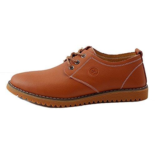 de en lacets 47 Oxford Hommes taille Kaki ville 38 plat à iLory Chaussures cuir Chaussures Loisir w8BI8xqH