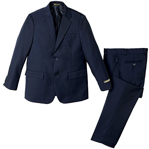 Spring Notion Big Boys' Two Button Suit Navy 08 Jacket and Pants ()