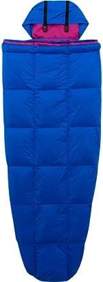 Ozark Trail 10-Degree Adult Down Packable Sleeping Bag, Blue/Purple by Ozark