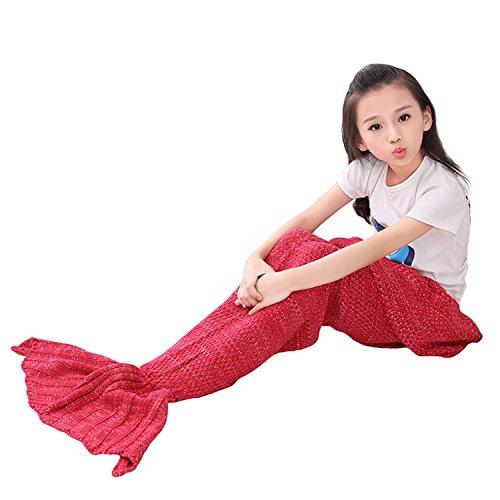 KING FUN Mermaid Tail Blanket Soft All Seasons